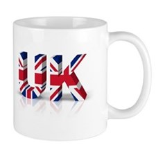 3D UK Union Flag Mug