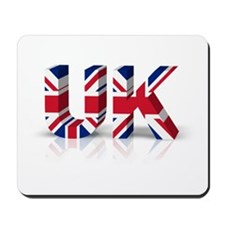 3D UK Union Flag Mousepad