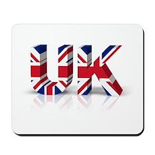 3D UK Union Flag Mousepad