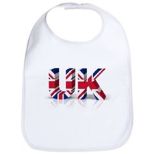 3D UK Union Flag Bib