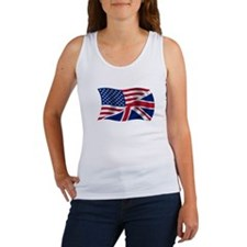 UK US Flag Women's Tank Top