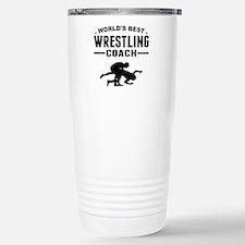 Cute Wrestling coach Travel Mug