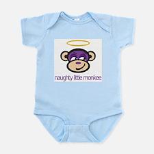 Naughty Little Monkee - Infant Creeper