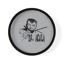 Dr Acula Wall Clock