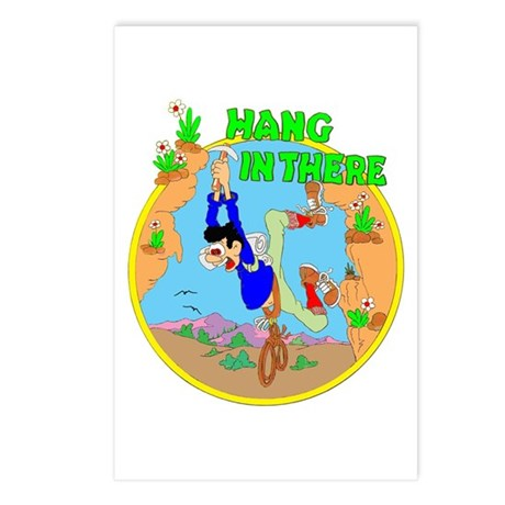 HANG IN THERE Postcards (Package of 8)