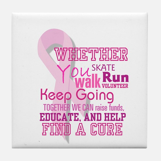 Find a Cure - Tile Coaster