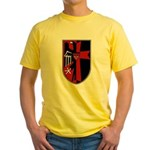 Red German Eagle Yellow T-Shirt
