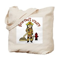 Personalized Firefighter Tote Bag