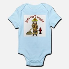 Personalized Firefighter Infant Bodysuit