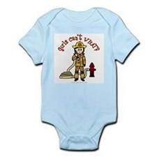 Personalized Firefighter Onesie