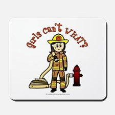 Personalized Firefighter Mousepad