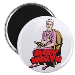 Mary Reading Magnet