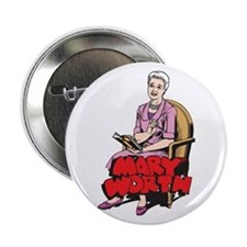 "Mary Reading 2.25"" Button"