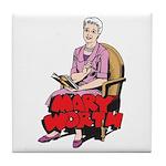 Mary Reading Tile Coaster