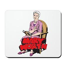 Mary Reading Mousepad