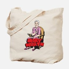 Mary Reading Tote Bag