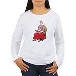 Mary Reading Women's Long Sleeve T-Shirt