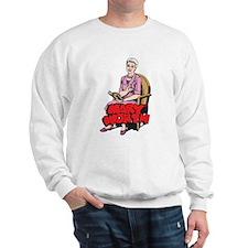 Mary Reading Sweatshirt