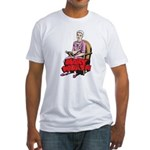 Mary Reading Fitted T-Shirt