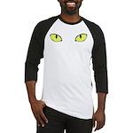 Halloween Cat's Eye Baseball Jersey