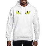 Halloween Cat's Eye Hooded Sweatshirt