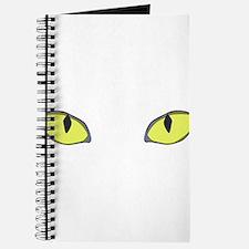 Halloween Cat's Eye Journal