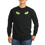 Halloween Cat's Eye Long Sleeve Dark T-Shirt