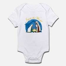 Nativity Scene Infant Bodysuit