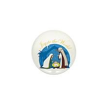 Nativity Scene Mini Button (10 pack)