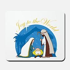 Nativity Scene Mousepad