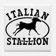 ltalian Stallion Tile Coaster