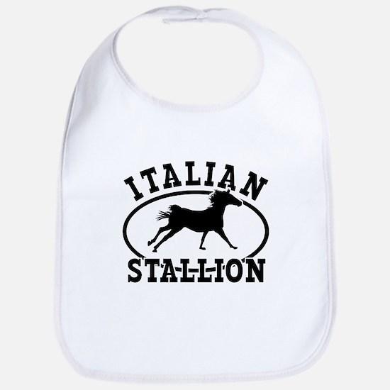ltalian Stallion Bib