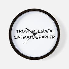 Trust Me: Cinematographer Wall Clock