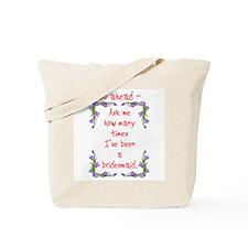 Funny Bridesmaid Tote Bag