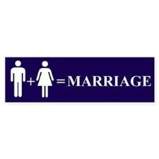 Support Marriage Bumper Bumper Stickers