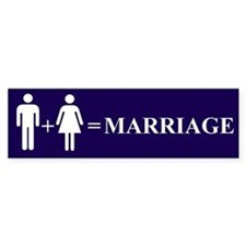 Support Marriage Bumper Stickers