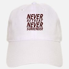 NEVER SURRENDER Baseball Baseball Cap