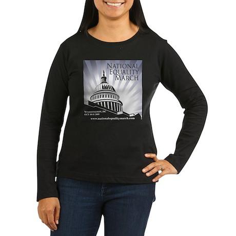 Equality Matters Women's Long Sleeve Dark T-Shirt