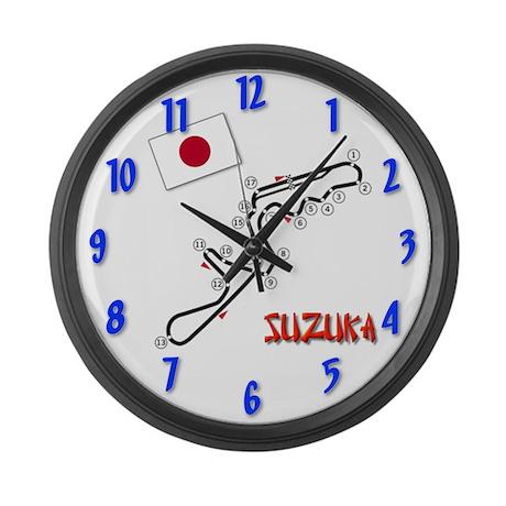 Suzuka Large Wall Clock