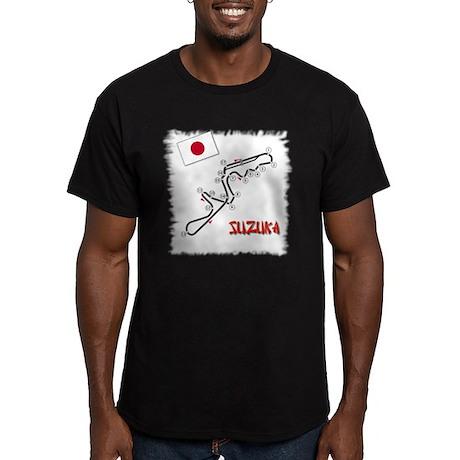 Suzuka Men's Fitted T-Shirt (dark)
