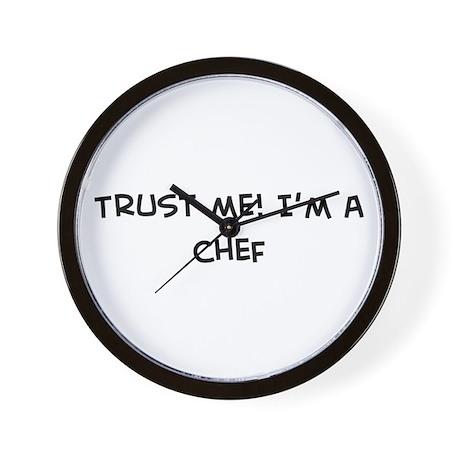 Trust Me: Chef Wall Clock