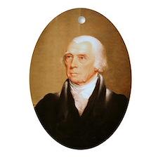 James Madison Christmas Ornament