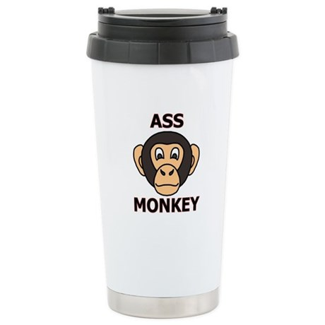 ASS MONKEY Stainless Steel Travel Mug