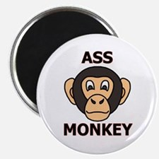 """ASS MONKEY 2.25"""" Magnet (10 pack)"""