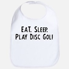 Eat, Sleep, Play Disc Golf Bib