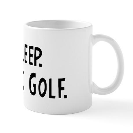 Eat, Sleep, Play Disc Golf Mug