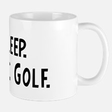 Eat, Sleep, Play Disc Golf Mug