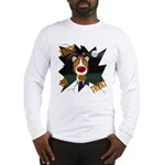 Collie Clown Halloween Long Sleeve T-Shirt