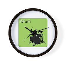 iDrum Wall Clock