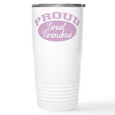 Proud Great Grandma Travel Mug